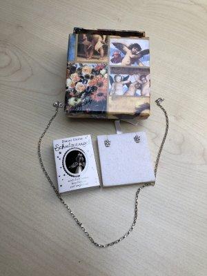 Engel Schmuck Set Geschenk Idee Silber 925