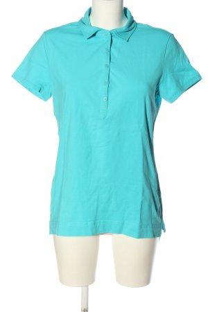 Engelbert Strauss Polo-Shirt blau Casual-Look