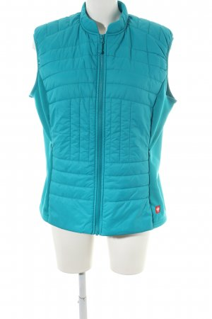 Engelbert Strauss Quilted Gilet turquoise quilting pattern casual look