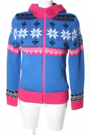 Engelbert Strauss Knitted Wrap Cardigan graphic pattern casual look