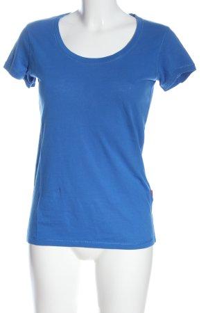 Engelbert Strauss T-Shirt blau meliert Casual-Look