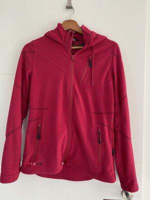Engelbert Strauss Fleece Jackets raspberry-red