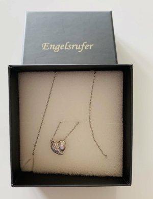 Engelsrufer Herzflügelkette Silber
