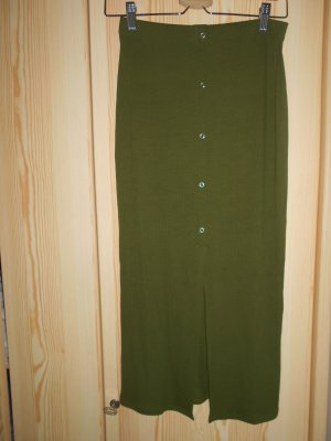 Asos Maxi rok khaki-olijfgroen