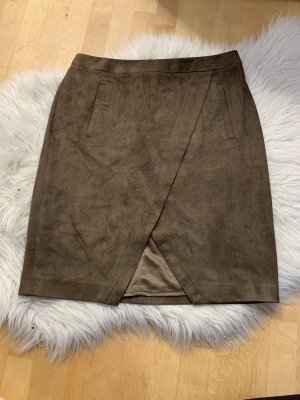 Capital B* Mini rok grijs-bruin