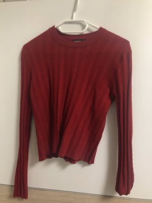 Tally Weijl Camicia cropped rosso
