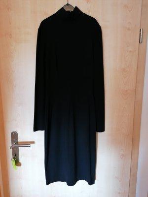 Dolce & Gabbana Vestido de tela de sudadera negro
