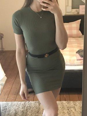 Bohoo Mini Dress khaki