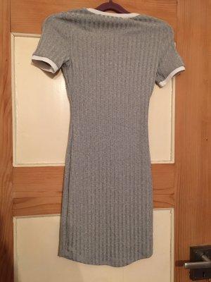 H&M Tube Dress light grey-white