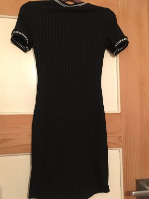 H&M Tube Dress black-white