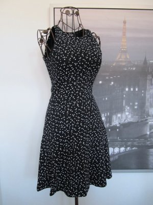Ckh clockhouse Stretch Dress black-white cotton