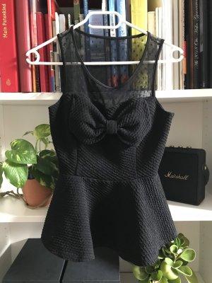 active Haltertop zwart Polyester