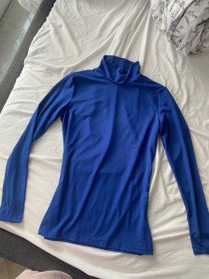 SheIn Koszulka z golfem niebieski