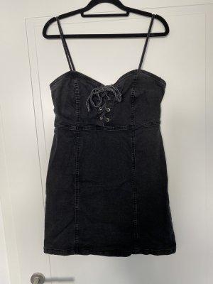 Primark Robe en jean noir-argenté