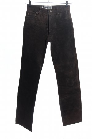 Enjoy Lederhose braun Casual-Look