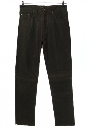 Enjoy Lederhose schwarz Casual-Look
