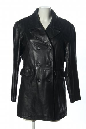 Enjoy Lederjacke schwarz Business-Look