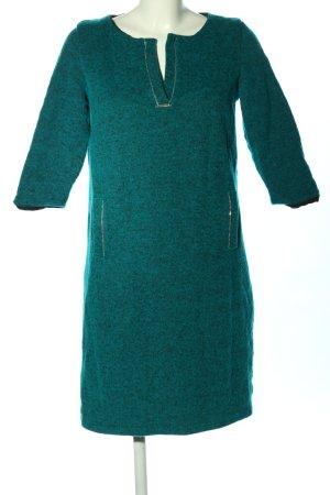 Enny Vestido de lana turquesa look casual