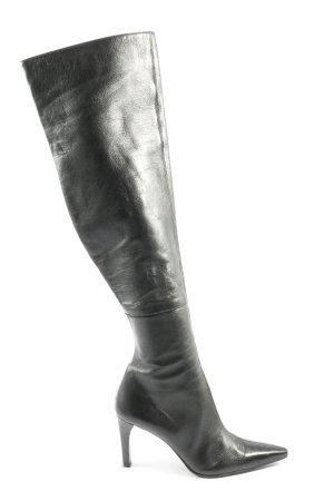 Enrico Antinori High Heel Stiefel schwarz Casual-Look