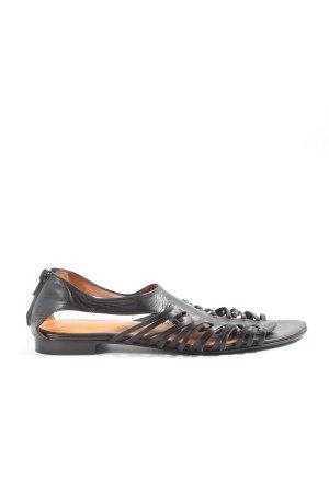 Enrico Antinori Sandalias cómodas negro look casual