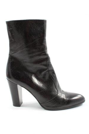 Enrico Antinori Reißverschluss-Stiefeletten schwarz Elegant