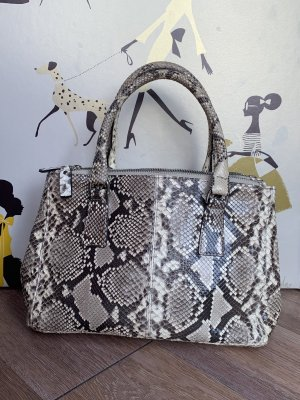 Enrico Pucci Carry Bag oatmeal-taupe leather