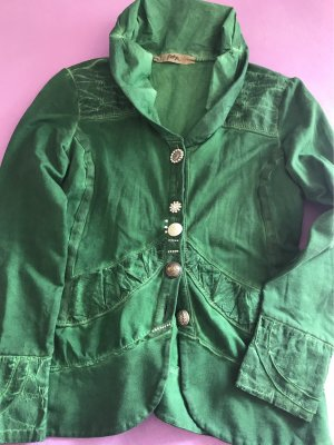 La Bottega di Lisa Blouse Jacket forest green