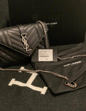 Green Envelope Handbag black