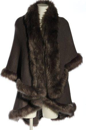 Envi Fashion Design Mantella marrone elegante