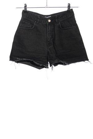 Envii High waist short zwart casual uitstraling