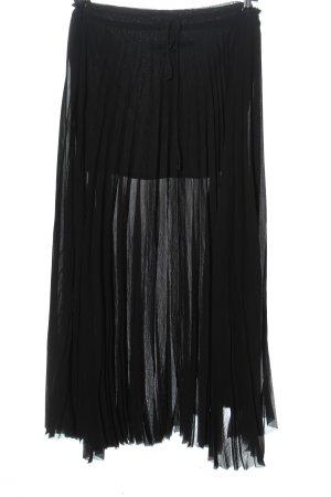 Enza costa Falda larga negro look casual