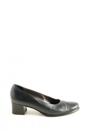 Enzital Spitz-Pumps schwarz Business-Look