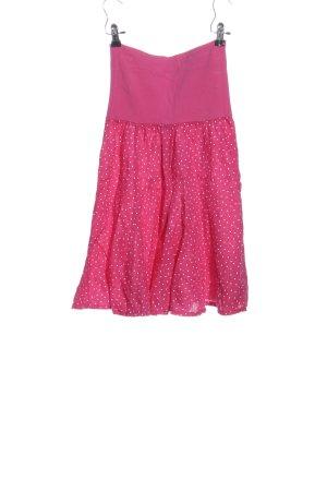 epoca Glockenrock pink-weiß Allover-Druck Casual-Look