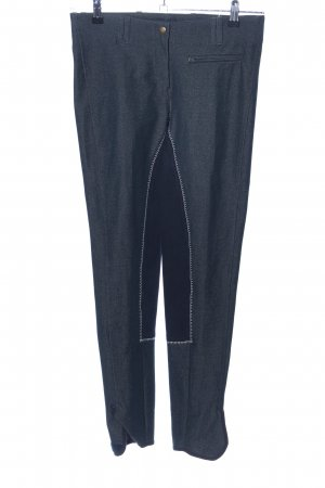 equilibre Riding Trousers light grey-black casual look