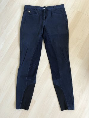 Pantalone da equitazione blu scuro