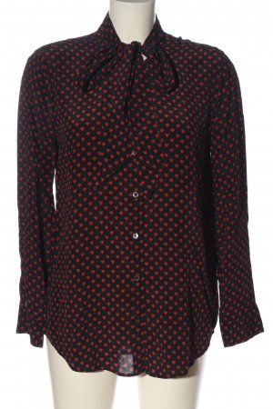 Equipment Shirt Blouse black-red allover print casual look