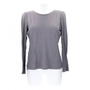 Equipment Longsleve T-Shirt Pullover Gr. S - 36 in grau-braun