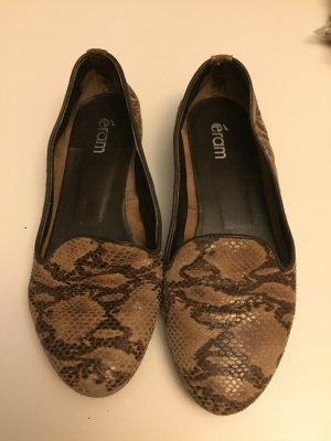 Eram Schuhe Loafer Schlangenoptik Gr. 37