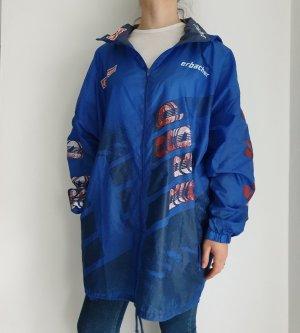 erbacher XL blau rot weiß True Vintage Pulli Pullover Jacke Trainigsjacke Hoodie Sweater Oversize