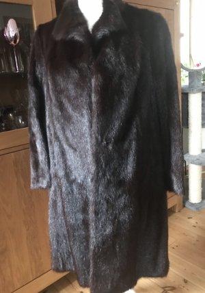 Pelt Coat dark brown