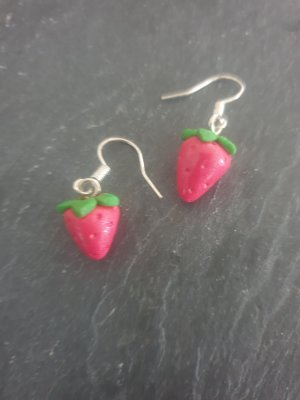 Erdbeeren Ohrringe