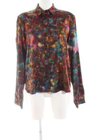 Erdem Langarm-Bluse abstraktes Muster Casual-Look