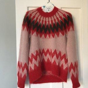 Erdem Oversized Sweater multicolored mohair
