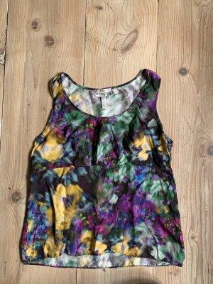 Erdem Silk Top multicolored silk