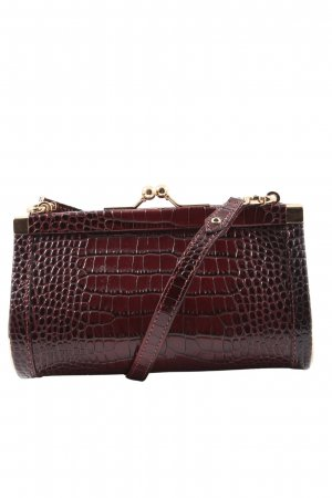 ERDEM x H&M Mini sac brun motif animal style d'affaires