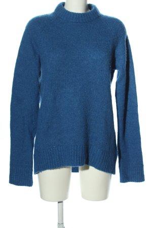 ERDEM x H&M Wollpullover blau Casual-Look