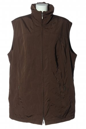 Erfa Quilted Gilet brown casual look