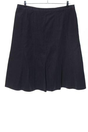 Erfo Falda de tubo negro look casual