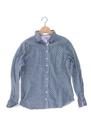 ERFO Bluse Größe 38 blau aus Baumwolle
