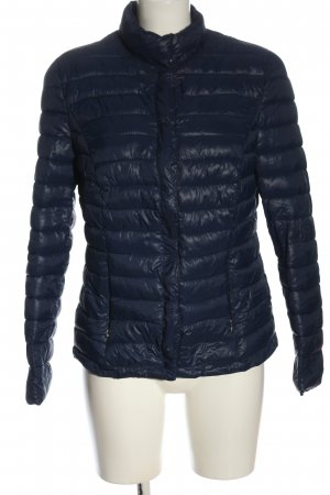 Erfo Down Jacket blue quilting pattern casual look